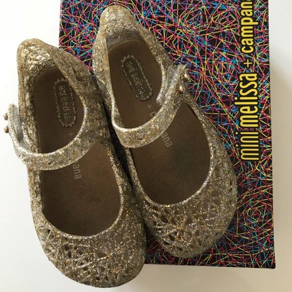 scarpe da corsa super economico belle scarpe Mini Melissa Campana ballerina